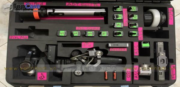 Thiết kế gia công mút chống sốc đựng máy ảnh, camera, flycam DJI, ống kính máy quay