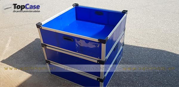 Sản xuất thùng nhựa Danpla theo yêu cầu